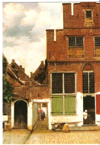 Little Street by Vermeer