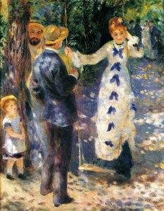 Renoir's La Balancoire(3rd Exhibition)