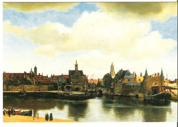 View of the Delft Mauritshuis, The Hague