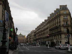 View down the Ave de l'Opera (Opera Garnier)