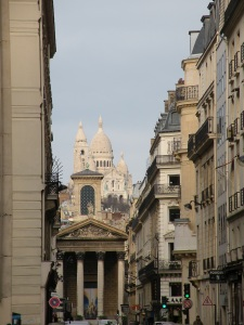 View down Lafitte(Sacre Coeur)