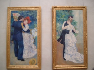 City Dance Country Dance Renoir Musee d'Orsay