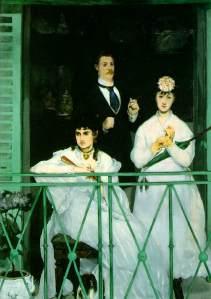 Le balcon Édouard Manet