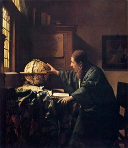 Vermeer's The Astronomer (1668) Musee du Louvre