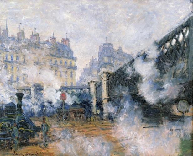 Monet arretait les trains