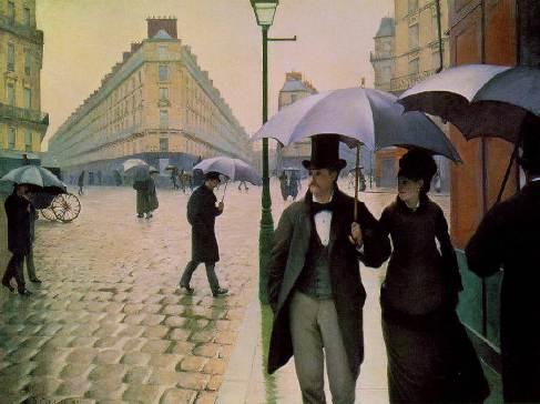 Paris Street; rainy day AIC Chicago