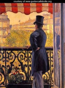 Caillebotte The-Man-On-The-Balcony