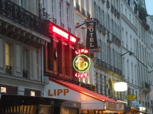 Brasserie Lipp on Saint-Germain-des-Pres