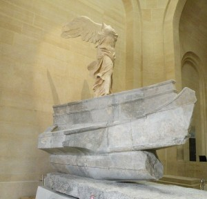 Winged Victory of Samothrace, 2014