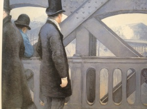 "Caillebotte's ""On the Pont de l'Europe"" (Kimbell)"