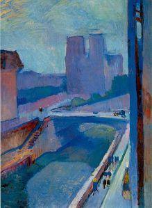 Henri Matisse Notre-Dame, une fin d'après-midi 1902