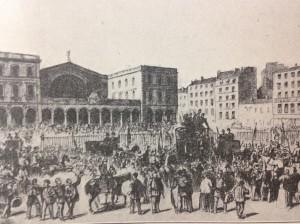 la gare l'est 1870