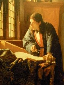 Vermeer's The Geographer (1668) Frankfurt