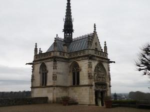 Chapel where Leonardo da Vinci is buried Amboise