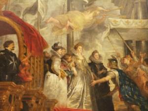 Marie de Medici by Rubens, Musee du Louvre