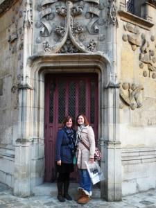 Mom and daughter in Paris, 2012