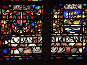 Oude Kerk stained glass windows