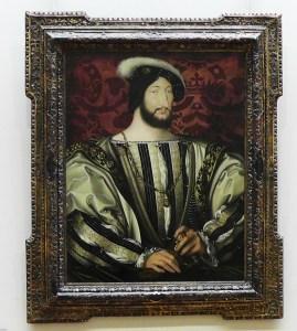 Francois I by Jean Clouet 1480 Musee du Louvre