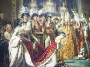 Coronation of Josephine Ingres Musee du Louvre