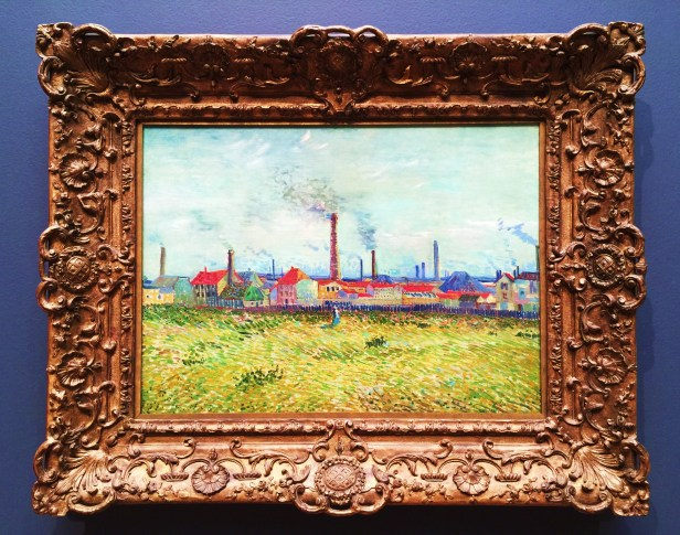 Factories in Clichy 1887 SLAM