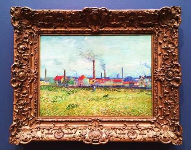 Factories in Clichy 1887 SLAM