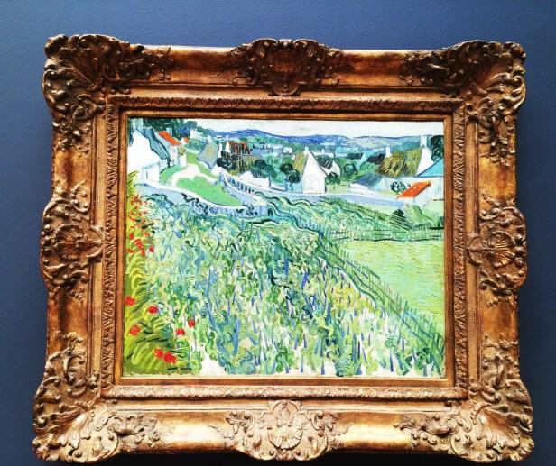 Van Gogh Vineyards at Auvers 1890