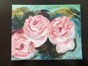 Renoir three roses me