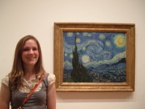 van gogh MoMA Lor and Starry night