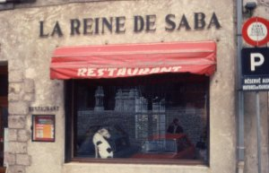 1976 Chartres (across from Cathedral)